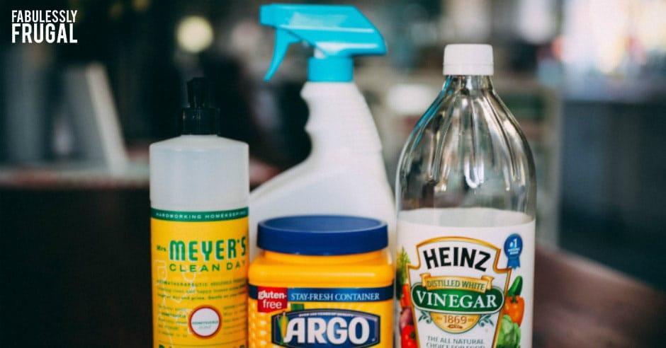 Soap scum remover