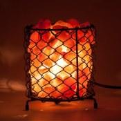Amazon: Himalayan Salt Basket Lamp $9.99 (Reg.$19.99)