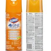 Amazon: Clorox 4-in-1 Disinfectant Sanitizer $7.99 (Reg $9.42)