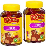 Amazon: L'il Critters Kids Fiber Gummy Bears Supplement, 90 Count as low...