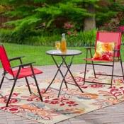 Walmart: Mainstays Pleasant Grove 3-Piece Folding Bistro Set $55 (Reg....