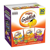 Amazon Prime: 30 Pack Pepperidge Farm Goldfish, Crackers Variety Pack,...