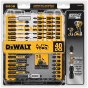 Amazon: 40-Piece DEWALT IMPACT READY FlexTorq Screw Driving Set $17.99...