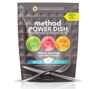 Amazon: 45 Count Method Power Dish Dishwasher Soap Packs as low as $4.94...