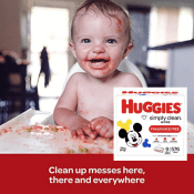 Amazon: 576-Count Huggies Fragrance-Free Baby Wipes as low as $10.56 (Reg....