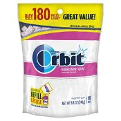 Amazon: Orbit White Bubblemint Dental Gum, Sugarfree 180ct as low as $5.68...