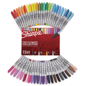 Amazon: 72 Count Sharpie Permanent Markers Ultimate Collection $29.99 (Reg....