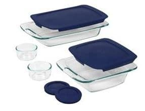 pyrex easy grab bakewear set 8-piece