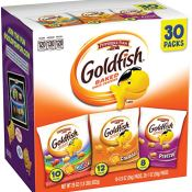 Amazon: Pepperidge Farm Goldfish, 30-Count Snack Packs as low as $6.48...