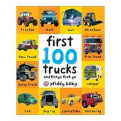 Amazon: First 100 Trucks - And Things That Go Hardcover Book $3.54 (Reg.$5.99)
