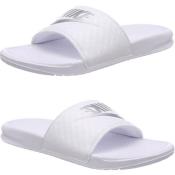 Amazon: Nike White Women's Benassi Sandals $15 (Reg. $25)