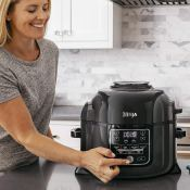 Amazon: Ninja Foodi 8-Quart All-in-One Multi-Cooker, Black/Gray $201.59...