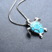Amazon: Turtle Pendant Necklaces $2.93 (Reg. $5.86) + Free Shipping - 4...