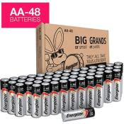 Amazon: 48 Energizer AA Batteries $14.99 (Reg. $24.99) - FAB Ratings!