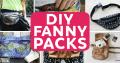 DIY fanny packs