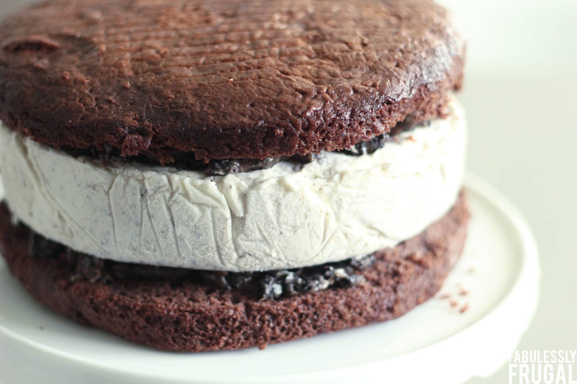 easy layered oreo ice cream cake