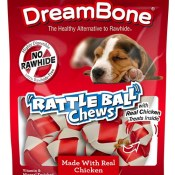 Amazon: DreamBone Chicken Rattle Ball Dog Chews as low as $2.67 (Reg. $4.51)...