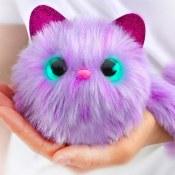 Amazon: Pomsies Speckles Plush Interactive Toys, One Size, Purple/Lavender...