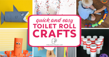 Quick and easy toilet roll crafts
