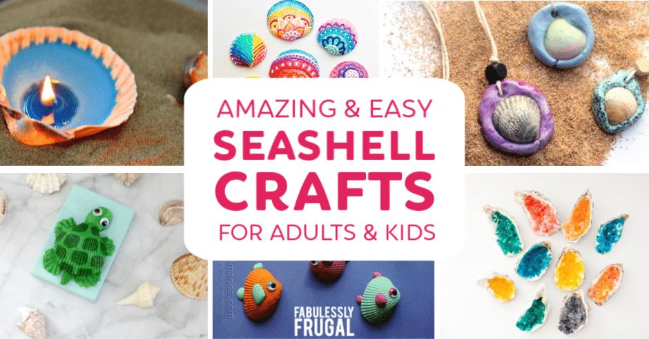 Seashell craft ideas