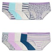 Amazon: 10 Pack Fruit of the Loom Girls' Cotton Brief Underwear $6.98...