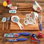 Walmart: 20-Piece The Pioneer Woman Dazzling Dahlias Gadget Set $19.99...