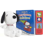 Amazon: Peanuts Merry Christmas Charlie Brown Board Book Gift Set $3.74...