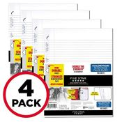 Amazon: 400 Sheets 3-Hole Loose Leaf Paper, College Ruled, 11 x 8-1/2 inches...