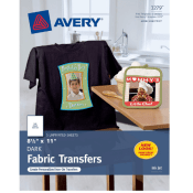 Amazon: 5 Paper Avery Printable T-Shirt Transfers $8.99 (Reg. $19.74)