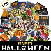 Amazon: 100 Pieces Assorted Halloween Stickers $6.39 (Reg. $8.99) - 6.4¢...