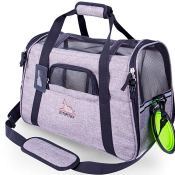 Amazon: Airline Approved Pet Carrier with Fleece Bedding Mat  $14.80 After...