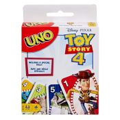Amazon: UNO Toy Story 4 Card Game $3.99 (Reg. $5.99)