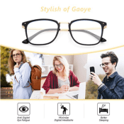 Amazon: Blue Light Blocking Computer Glasses $8.38 After Code (Reg. $13.98)