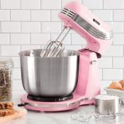 Amazon: Retro Style Pink Stand Mixer $23.55 (Reg. $39.99) - Best Price...