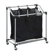 Amazon: Honey-Can-Do Triple Laundry Sorter with Mesh Bags $15.44 (Reg....
