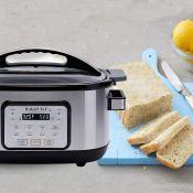 Amazon: Instant Pot 6 Qt Aura Multi-Use Programmable Multicooker, Silver...