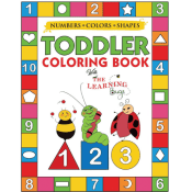 Amazon: My Numbers, Colors and Shapes Toddler Coloring Book with The Learning...