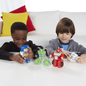 Amazon: Playskool Heroes Transformers Rescue Bots Griffin Rock Rescue Team...