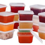 Amazon: Set of 20 Mini Food Storage Containers, 2.3 Oz Each $7.19 (Reg....