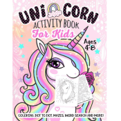 Amazon: Unicorn Activity Book for Kids $4.02 (Reg. $6)