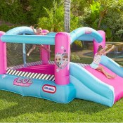 Amazon: L.O.L. Surprise Jump 'n Slide Inflatable Bounce House with Blower...