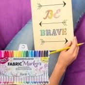 Amazon: Tulip Permanent Nontoxic Fabric Markers, 20 Pack, Multicolor $7.99...