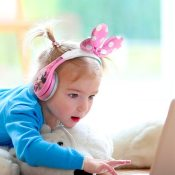 Amazon: Minnie Mouse Headphones for Kids with Built in Volume $11.99 (Reg....