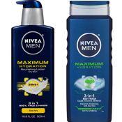 Amazon: NIVEA Men Maximum Hydration Essential Pack $8.74 (Reg. $12.49)