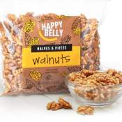 Amazon: 40 Oz Happy Belly California Walnuts as low as $13.59 (Reg. $15.99)...