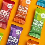 Amazon: HEALTH WARRIOR Gluten-Free Chia Bars Tropical Variety 15-Pack as...