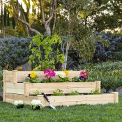 Walmart: 3-Tier Wooden Garden Bed Planter Kit $52.97 (Reg. $152.99) + Free...