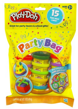 Play-doh party bag valentines day gift idea