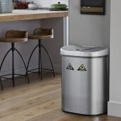 Amazon: Automatic Touchless Infrared Motion Sensor Trash Can/Recycler with...