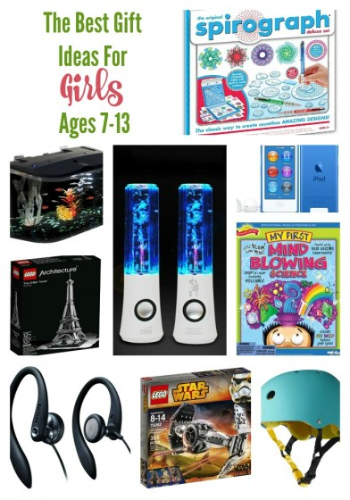 All of The Best Gift Ideas for Girls Age 7-13
